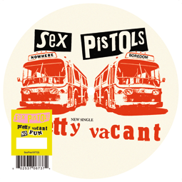 Pretty Vacant limited edition picture disc 7""