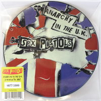 Sex Pistols - Anarchy in the UK picture disc 2012